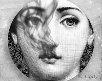 Smoke in your eyes Cavalieri plate