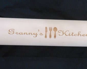 Personalized Granny's Kitchen Rolling Pin