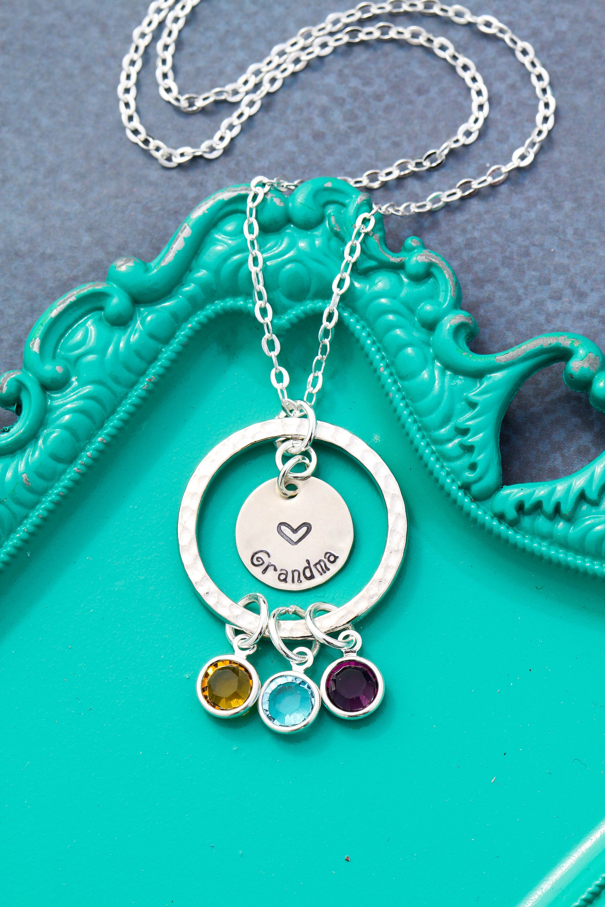 jewelry il listing hhas birthstone mothers grandkid necklace initial gifts zoom fullxfull day