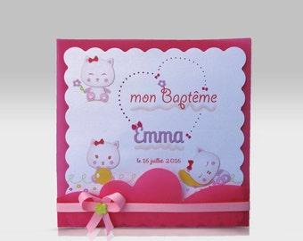 "Baptism announcements model ""Emma"", custom"
