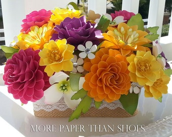 paper flower decorations for weddings