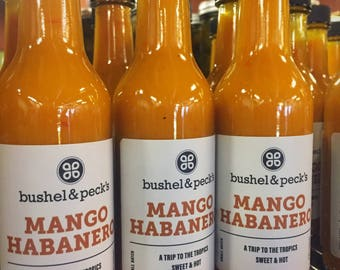 NEW and LIMITED EDITION Mango Habanero Hot Sauce Three Pack Box