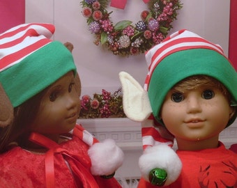 Elf Hat for American Girl