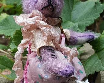 Violet - Artist Bear, collectible bear, vintage toy