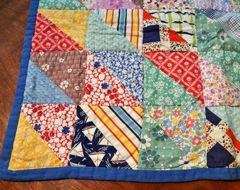 Patchwork doll quilt