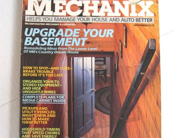 Home Mechanix Magazine - September 1985