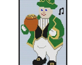 Leprecon, pattern two sizes and one in peyote