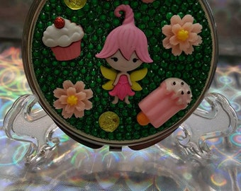 I believe in Fairys Compact Purse Mirror
