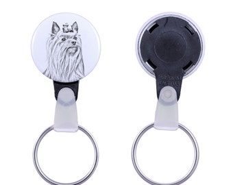 Keyring with a dog -Yorkshire Terrier