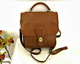 Leather bag, Croft & Barrow Bag Genuine Leather Purse Vintage Brown leather purse.