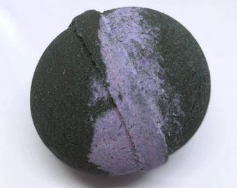 Organic Stormy Waters Bath Bomb || Natural Soothing