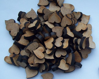 MDF Wedding Table Confetti, decoration, embellishments, ornament