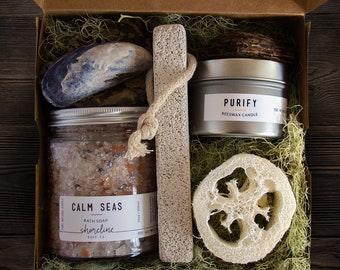 Unique Gift Box ~ Stress Relief Gift Ideas ~ Gift For Her ~ Mothers Day Gift ~ Girlfriend Gift ~ Anniversary Gift Box ~ Spa Gift Set ~ Bath
