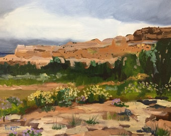 Ghost Ranch- Fine Art - oil painting