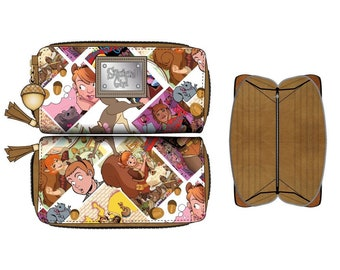 MARVEL - SQUIRREL GIRL - Juniors Zip Around Wallet / Portefeuille (New, Free Shipping For Additional Products)