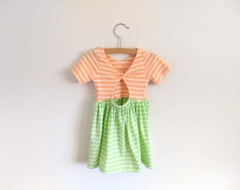 Summer dress, 18-24 months, ready to ship, toddler dress, baby dress, dress with back detail, Easter dress