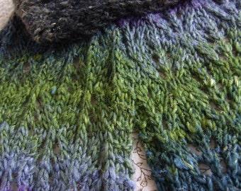 Noro Prism Scarf Knitting Pattern PDF (Revised May 2016)