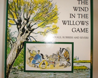 Wind in the Willows, Game, UK, 1992, Rivals, Robbers & Rivers, FREE Shipping