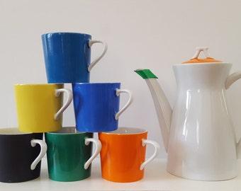 Lipper & Mann Creations 7 Piece Tea Set MCM Multi-Color