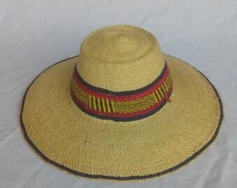 Straw hat | Hat large head | Hat men | Straw hat Men | African straw hat | African hat | Farmer hat | Sun hat |  Hat women | Hat yellow