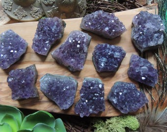 Amethyst Cluster / Amethyst / Small Amethyst Cluster / Uruguayan Amethyst Cluster / Uruguayan Amethyst