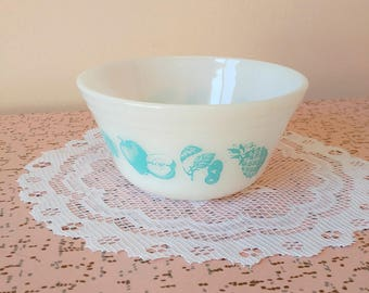 Vintage Federal fruit fare mixing bowl