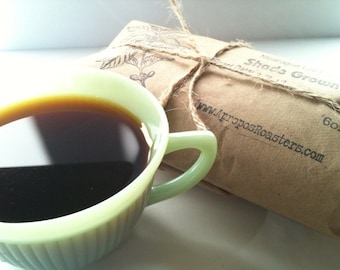 READY TO SHIP Holiday Gift Idea-Coffee Lovers Gift Idea. Coffee of the Month Club. One Year of Freshly Roasted Coffee. 6 oz/mo.