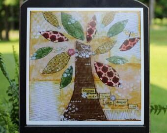 Art Print of Mixed Media Original artwork titled Take Root