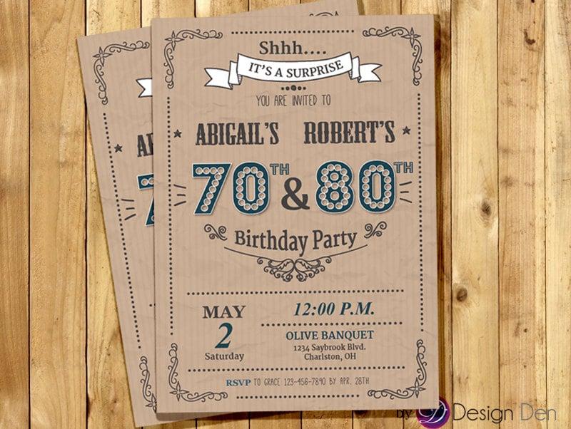 Stunning Joint Birthday Invites Ideas - Invitation Card Ideas ...