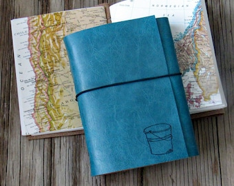 Eimer Liste Journal mit Karten als Reise Zeitschrift Ruhestandgeschenk zum Jubiläum von tremundo