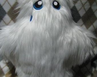 Sad Crying Yeti Plush Stuffed Animal