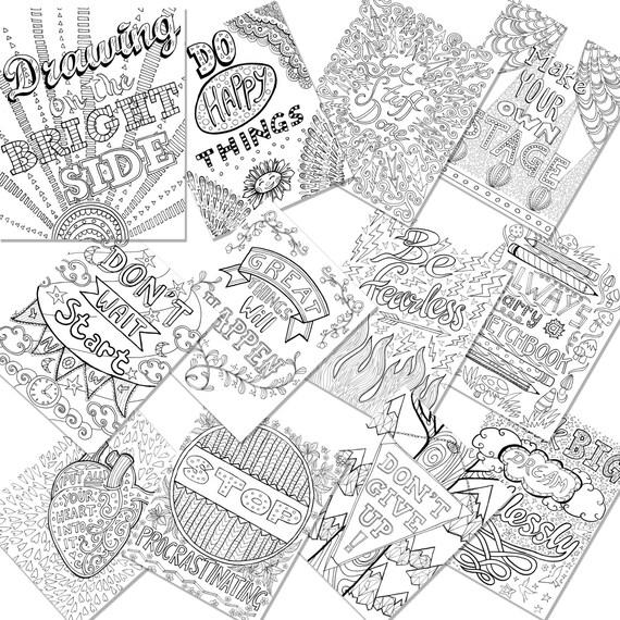 Zeichnung auf Brightside 12 Drucken eigene Erwachsene