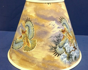 Hawk Lamp Shade