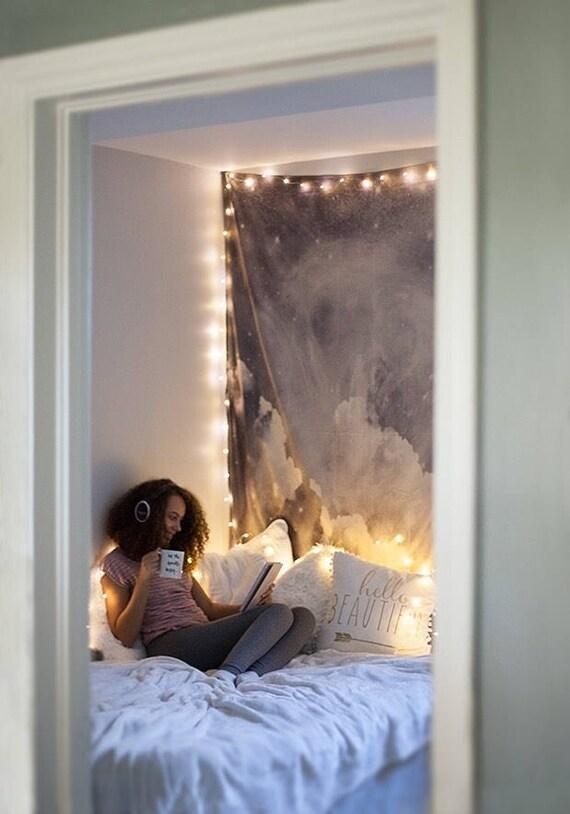 Bedroom fairy lights bedroom decor string lights dorm decor hanging light indoor string lights for dorm gift for women plug battery