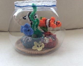 Crocheted Aquarium