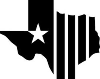 Texas Star Decal