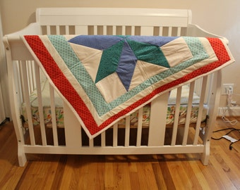 Bright Star Baby Quilt