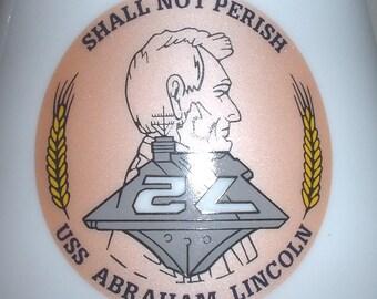 USN US Navy USS Abraham Lincoln cvn-72 coffee mug