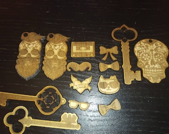 Personalized Customized laser cut projects
