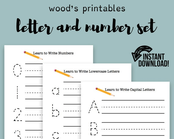 Practice Writing PDF Printable Letter Tracing Handwriting