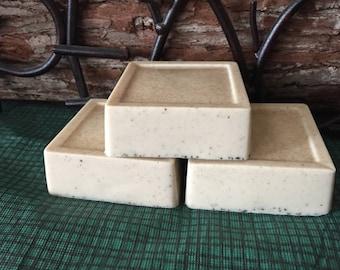 Fresh Brewed Coffee Soap Shea Butter Oatmeal Exfoliate