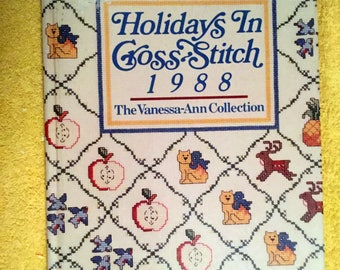 Holidays in Cross Stitch Vanessa Ann Collection 1988