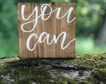 You can quote block wood sign / graduate gift