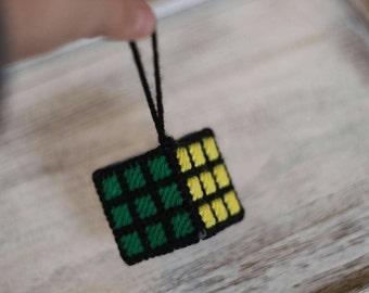 Rubix Cube Ornament/Gift Tag stocking stuffer