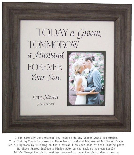 Parents of the Groom Gift Mother of the Groom Today A Groom