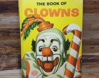 The Book Of Clowns, READ DESCRIPTIONS,  1953, vintage kids book