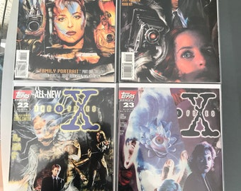 The X-Files #20-26 comic lot (1996-97) - Topps Comics - NM