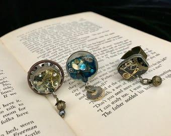 Steampunk Statement Ring- Steampunk Ring- Stemapunk Jewelry- Steampunk Costume- Steampunk Gear Ring- Steampunk Gear Jewelry- Steam Punk