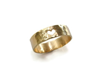 Heart ring. Gold heart ring. Heart gold ring. Gold ring. Romantic ring. Heart jewelry. Love ring. Love gold ring. 5mm gold ring. 5mm ring