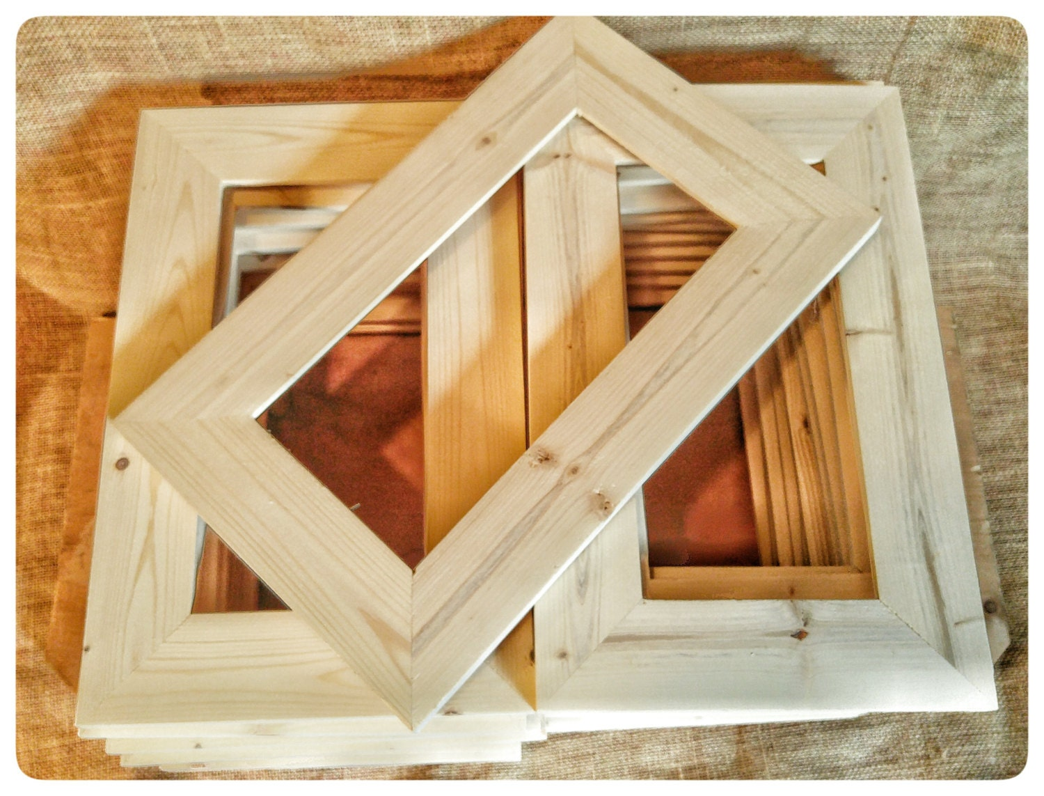 25 wood frames no hardware or glass bulk wood frames zoom jeuxipadfo Images